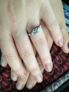 Lisa's Engagement Ring