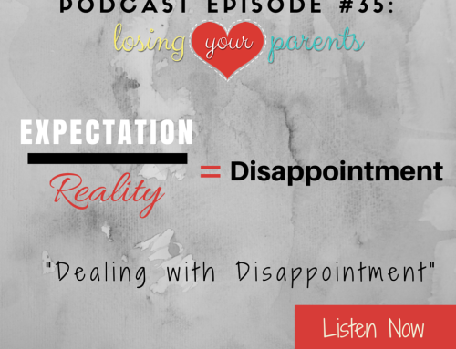 Podcast Episode #035: Dealing with Disappointment