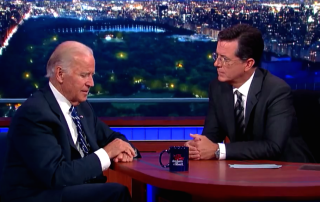 The Late Show with Stephen Colbert Interview with Vice President Joe Biden Parts 1 & 2